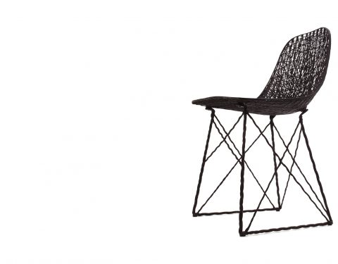 Stoel model Carbon Chair van Moooi